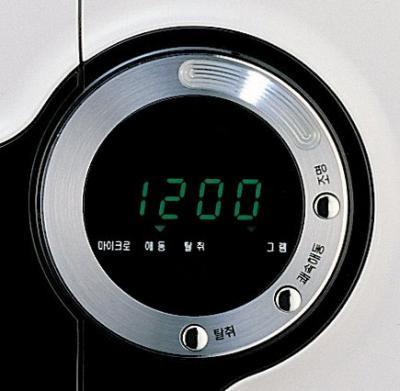 Микроволновая печь Daewoo KQG-6CCR - дисплей
