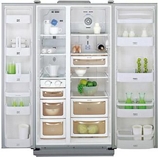 Холодильник с морозильником Daewoo FRS-2021IAL - Общий вид