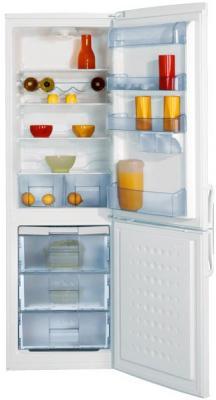 Холодильник с морозильником Beko CSK34000 - вид спереди