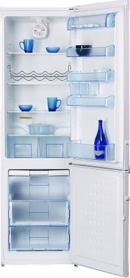 Холодильник с морозильником Beko CSK38000 - вид спереди