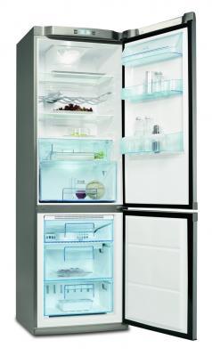 Холодильник с морозильником Electrolux ENB 35409 X - общий вид