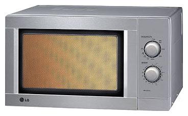 Микроволновая печь LG MS1924JL - вид спереди