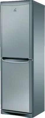 Холодильник с морозильником Indesit BH 180 X - общий вид