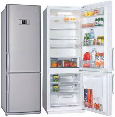Холодильник с морозильником LG GA-449 ULPA - Общий вид