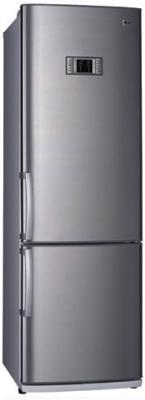 Холодильник с морозильником LG GA-449UTPA - Вид спереди