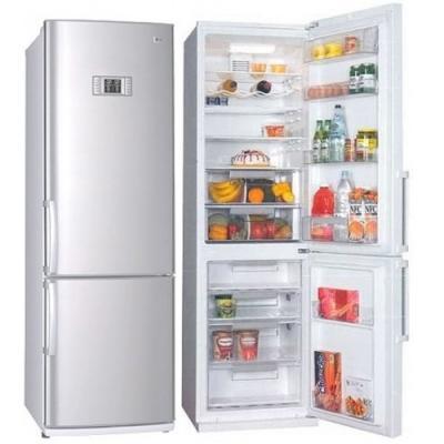 Холодильник с морозильником LG GA-479ULMA - общий вид