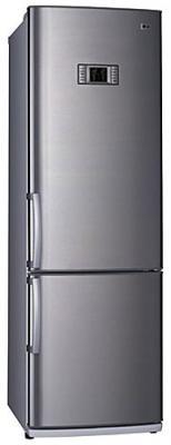 Холодильник с морозильником LG GA-479ULMA - вид спереди