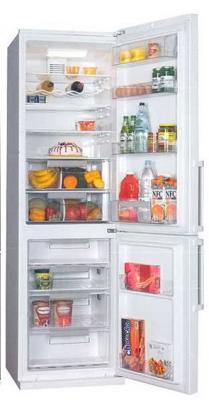 Холодильник с морозильником LG GA-479UTMA - вид спереди