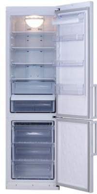 Холодильник с морозильником Samsung RL-38 ECSW - Общий вид