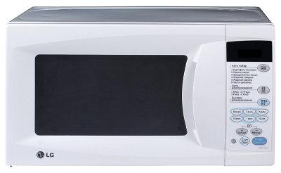 Микроволновая печь LG MB3944X - вид спереди