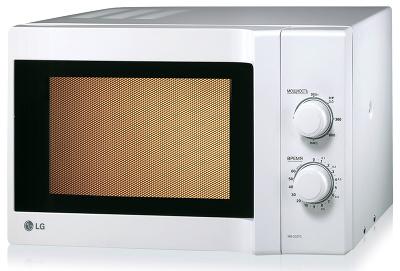 Микроволновая печь LG MS2027C - вид спереди
