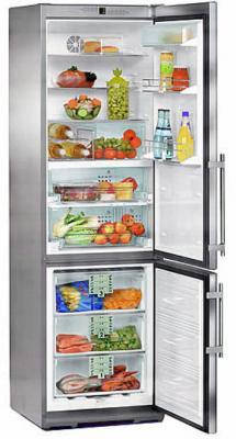 Холодильник с морозильником Liebherr CBPes 4056 - вид спереди