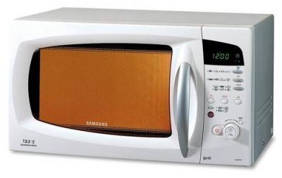 Микроволновая печь Samsung CE287DNR1S/BWT - вид спереди