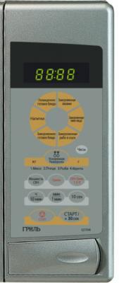Микроволновая печь Samsung G273VRS - панель управления