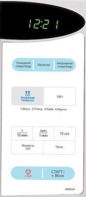 Микроволновая печь Samsung MW83UR - панель управления