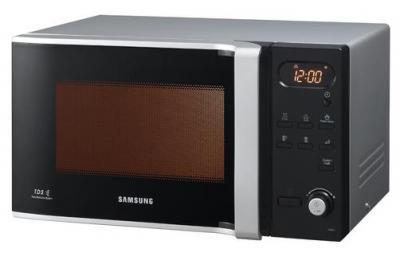 Микроволновая печь Samsung MW87LR-S/BWT - вид спереди