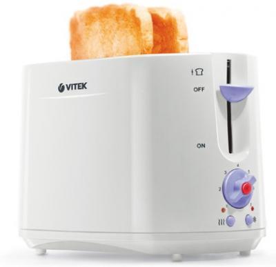 Тостер Vitek VT-1572 W/Y - вполоборота