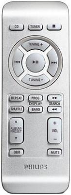 Магнитола Philips AZ3068/12 - пульт управления