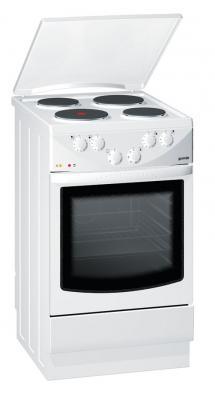 Кухонная плита Gorenje E271W - вид спереди