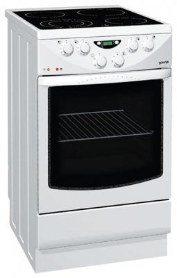 Кухонная плита Gorenje EC278W - вид спереди