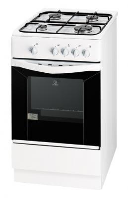 Кухонная плита Indesit KJ3G2(W)/R - общий вид