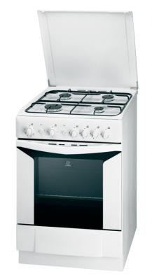 Кухонная плита Indesit K6G20(W)/R - общий вид