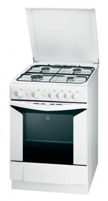 Кухонная плита Indesit K6G21(W)/R - общий вид