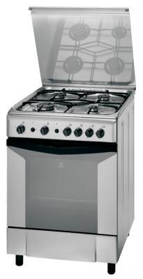 Кухонная плита Indesit K 6G21 S (X) - общий вид