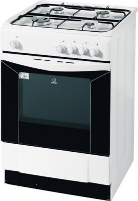 Кухонная плита Indesit KJ 6G2 (W) - общий вид