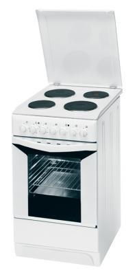 Кухонная плита Indesit K3E11(W)/R - общий вид