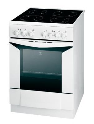 Кухонная плита Indesit K6C10(W)/R - общий вид
