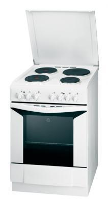 Кухонная плита Indesit K6E11(W)/R - общий вид