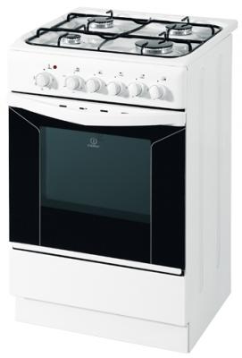 Кухонная плита Indesit KJ1G1 W - вид спереди