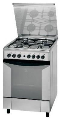 Кухонная плита Indesit K 6G52 S(X) - общий вид
