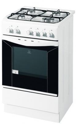 Кухонная плита Indesit KJ1G21 W - вид спереди