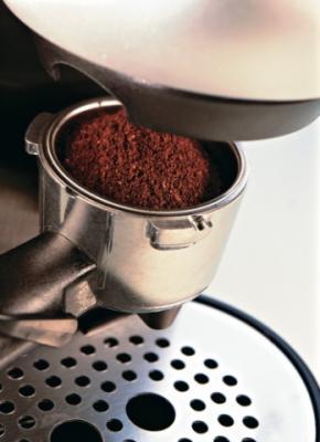 Кофеварка эспрессо Bosch TCA 4101 - отсек для кофе