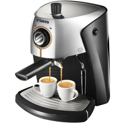 Кофеварка эспрессо Saeco Nina Gray Plus - общий вид