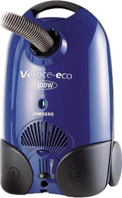 Пылесос Samsung VC6015V (VC6015VN3B/XEV) - вид спереди
