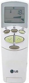 Сплит-система LG C18LTR - пульт управления