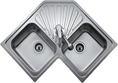 Мойка кухонная Teka Angular 2B (микротекстура) - общий вид