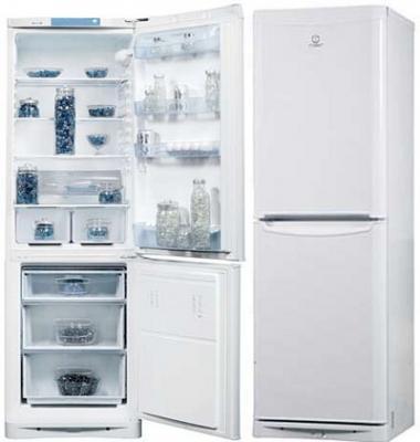 Холодильник с морозильником Indesit NBA 18 - общий вид