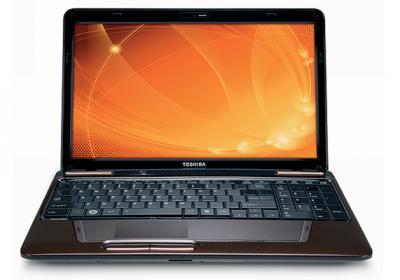 Ноутбук Toshiba Satellite L655-19U - общий вид