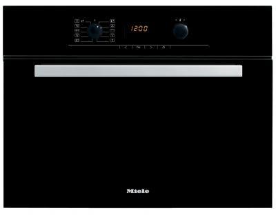 Электрический духовой шкаф Miele H 5040 BM BK - вид спереди