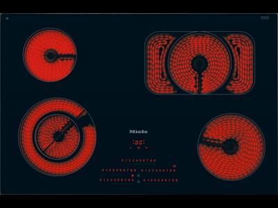 Электрическая варочная панель Miele KM 5845 - вид спереди
