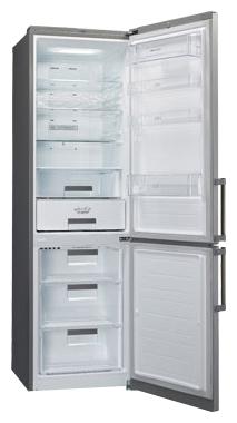 Холодильник с морозильником LG GA-B489BAKZ - общий вид