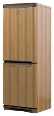 Холодильник с морозильником Indesit NBA 16 T - общий вид