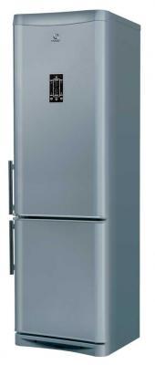 Холодильник с морозильником Indesit NBA 20 D FNF NX - вид спереди