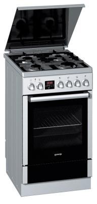 Кухонная плита Gorenje K57337AX - вид спереди