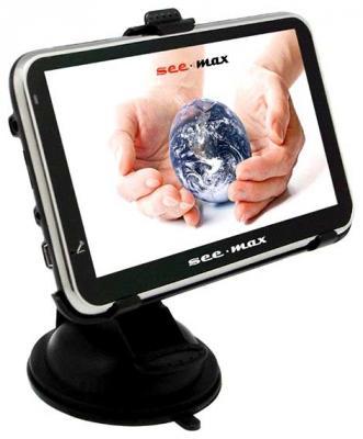 GPS навигатор SeeMax navi E510 - вид спереди