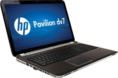 Ноутбук HP PAVILION dv7-6025sr - сбоку